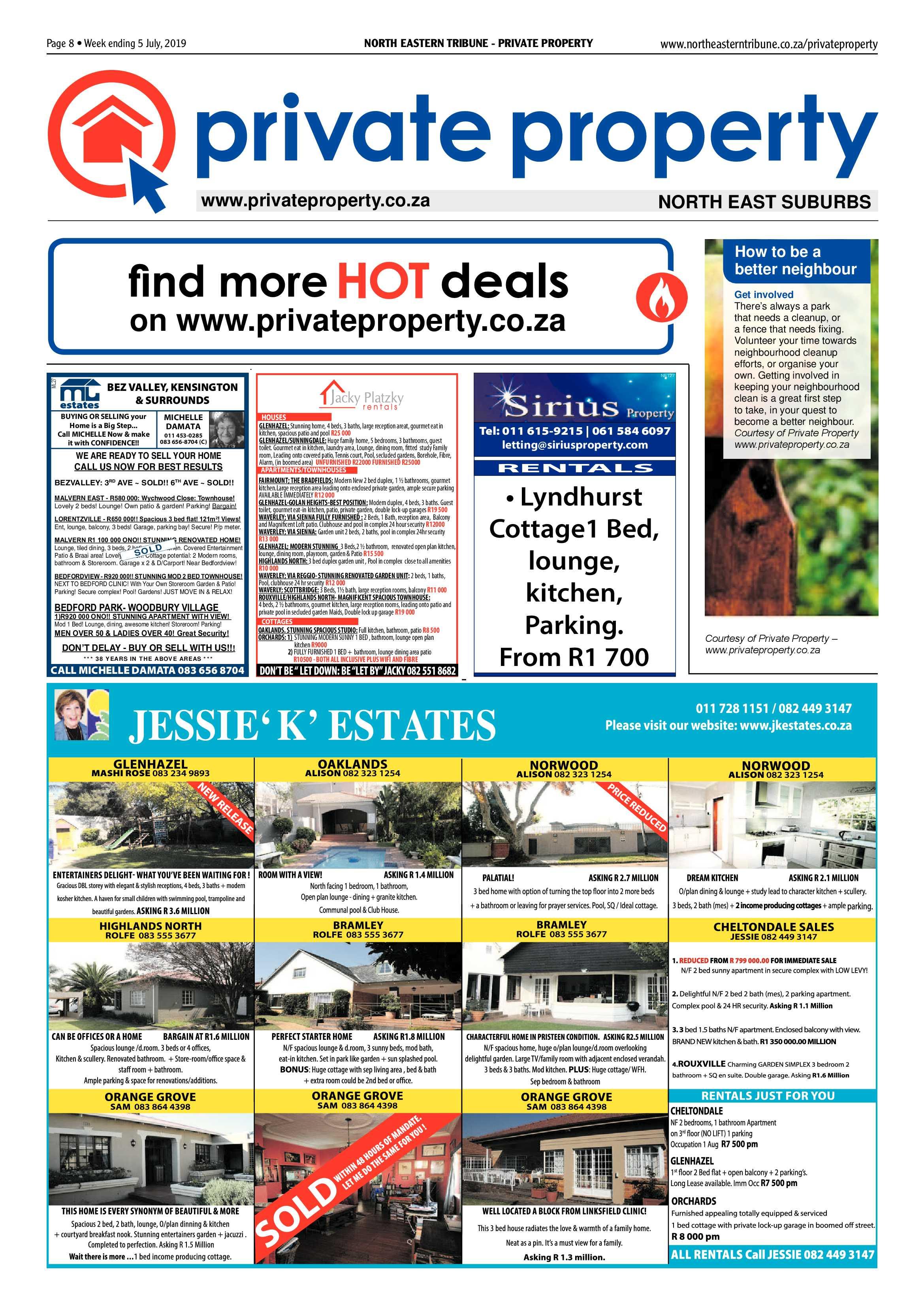 North Eastern Tribune 5 July, 2019   North Eastern Tribune