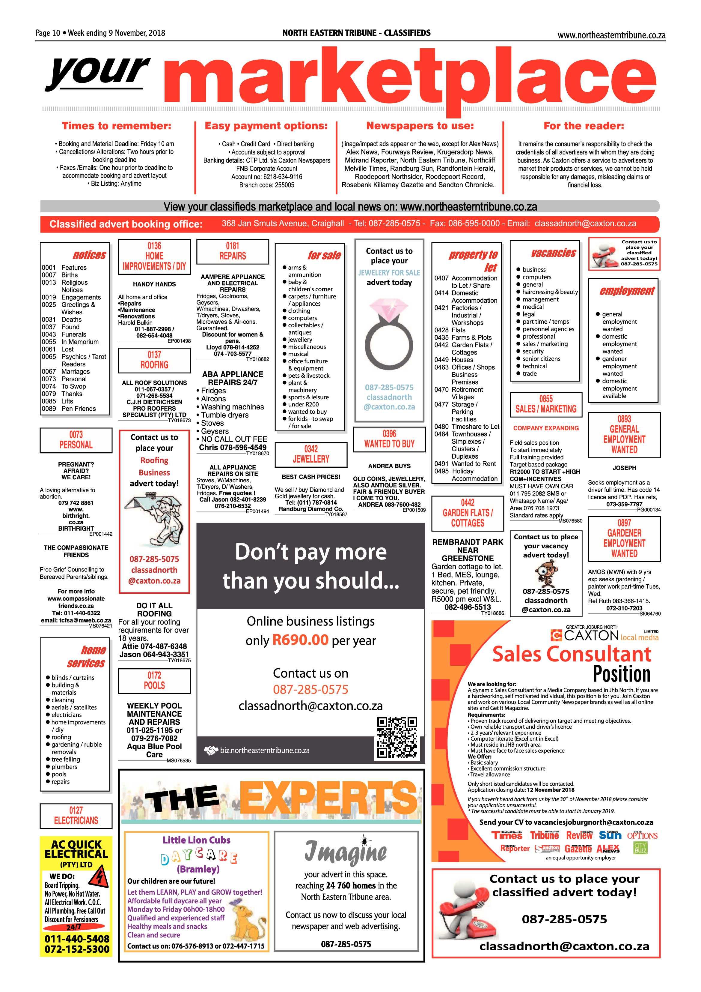 north-eastern-tribune-9-november-2018-epapers-page-10